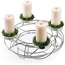 suchergebnis auf f r adventskranz aus edelstahl. Black Bedroom Furniture Sets. Home Design Ideas