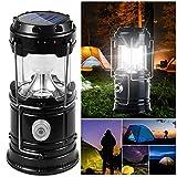DAMIGRAM LED Lanterna da Campeggio Pieghevole, Esterno Lanterna Torcia a LED Power Bank Lampada Impermeabile Ultra Luminoso LED Lanterna per Emergenze Escursioni Campeggio Trekking