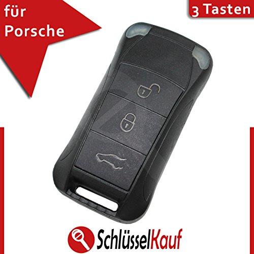 Porsche Cayenne 3 Tasten Klappschlüssel Schlüssel Ersatz Gehäuse Auto Funk  Fernbedienung Neu