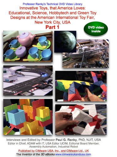Ranky: Innovative Toys, that America Loves: Part 1: Educational, Science, Hobbytech and Green Toy Designs at the American International Toy Fair... Part 1 (Fair Toy)