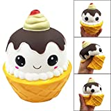 ALIKEEY Squishy Cartoon Chocolate Cake Encanto Lento Aumento De Exprimir Mitigador De La Tension Juguetes Medico Trenes