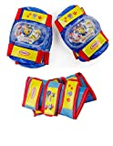 PAW PATROL DARP-OPAW003 Multi-Colour Kid's Activities Wrist Guards/Elbow and Knee Pads Protection Set (X-Small/Small)