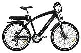 "UOMO SPORT MTB - La Bici de Montaña - 8FUN Motor Brushless 250W -36V - Ruedas 26"" Doble Pared - Shimano Alivio 21 Velocidades"