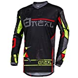 O'Neal Element Zen Motocross Jersey MX Enduro MTB DH Cross Trikot Mountain Bike Gelände, 001E-0Adult, Farbe Neon Gelb, Größe M