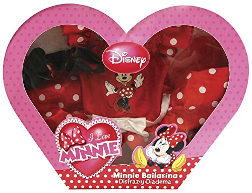 Imagen de rubie's  disfraz de minnie mouse ballerina en caja corazón con accesorios 883268 s  alternativa