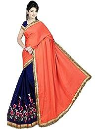 Karishma Women's Marble Saree,K0011_Multicoloured_Freesize
