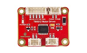 SunFounder TB6612 1.2A DC Motor Driver Module for Arduino or Raspberry Pi Smart Car Robot