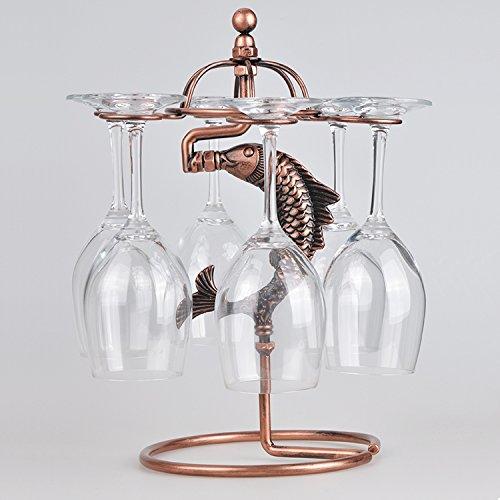 moda vetro vetro appesi stemware rack