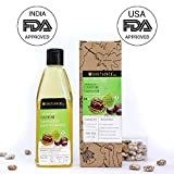 Soulflower Castor oil for hair growth, 100% Natural, Cold pressed, Moisturizing & Healing