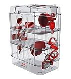 Zolux Cage pour Hamster, Souris, Gerbille ''RODY 3'' Trio