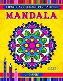 Mandala libro da colorare per bambini 5-9 anni: 31 pagine con facili e avanzati mandala geometrici, fiori e animali