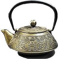 Fusioni giapponese Iron Pot modello antico smalto parete Tea acqua