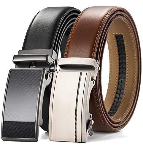 Mens belt, Leather Ratchet Belt ...
