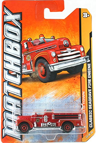 Seagrave Firetruck Matchbox - MBX Heroic Rescue