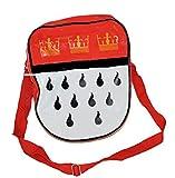 Karnevalsbud - Karneval Accessoire Umhänge-Statement-Tasche Köln Kölner Wappen Kölsch, Rot