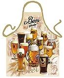 Schürze = Beer Garden = Bar- & Kochschürze mit Motiv Küchenschürze Latzschürze Grillschürze