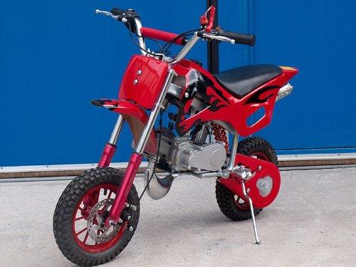 Dirt Bike Pocketbike Crossbike Dirtbike Cross 49cc NEU Rot