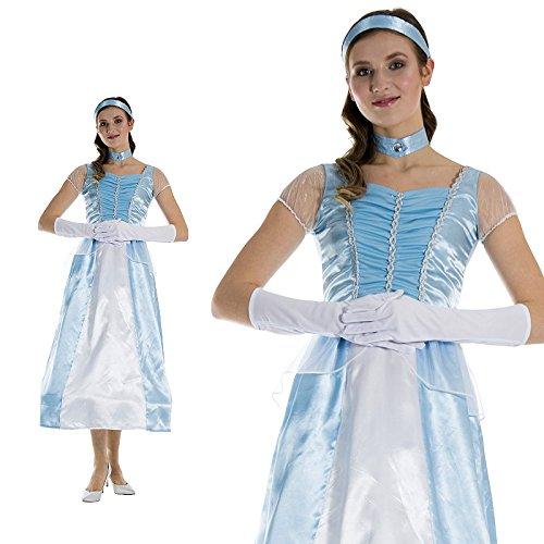 Eisprinzessin Prinzessin Aschenputtel Edelfrau Königin Kostüm Damen