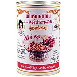 MAE PRANOM Pasta de chili en aceite, comida tailandesa, 900g