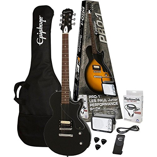 epiphone-pro-1-les-paul-junior-performance-pack-with-rocksmith-ebony