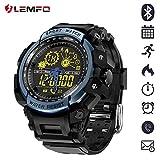 aec8df24fe61 LEMFO LF21 NO1 - Reloj de pulsera deportivo militar para hombre