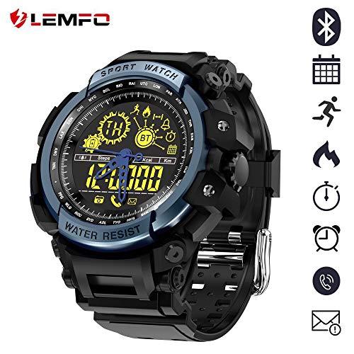 LEMFO LF21 NO1 - Reloj Pulsera Deportivo Militar Hombre
