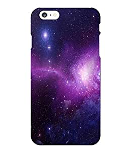 Case Cover Abstract Sky Printed Multicolor Hard Back Cover For Iphone 6 Plus