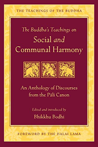 The Buddha's Teaching on Social and Communal Harmony (Teachings of the Buddha)