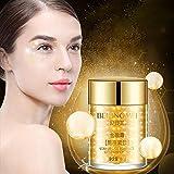 Colinsa Gold Augencreme Eye Serum feuchtigkeitsspendende dunkle Anti-Schwellungen Anti-Falten Anti-Aging-Lifting Hyaluronsäure für die reduziert Falten, Taschen Eye Serum 60g