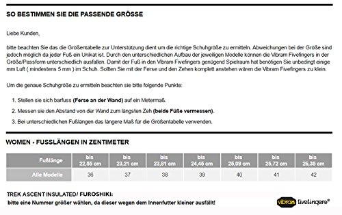 Vibram FiveFingers Signa Women - Wassersport Zehenshuh / Barfußschuh White / Black