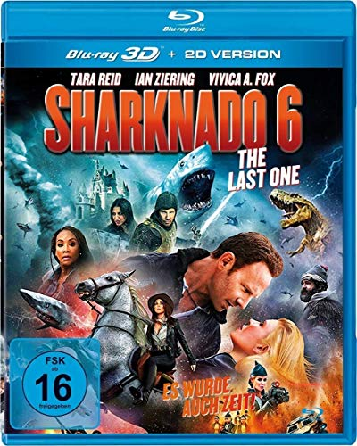 Sharknado 6 - The Last One (Es wurde auch Zeit!) - Uncut (+ Blu-ray 2D)