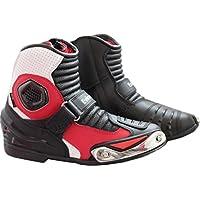 Botas protectoras impermeables para moto, color rojo y blanco de Eviron, color, talla 44