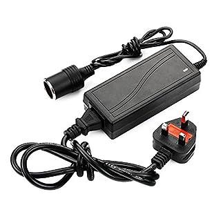 Power Supply Cigarette Lighter Socket AC to DC Adapter 110V-240V to 12V 5A Car Power Charger Converter
