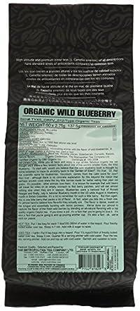 Metropolitan Tea 50 Count Pyramid Shaped Teabags, Wild Blueberry