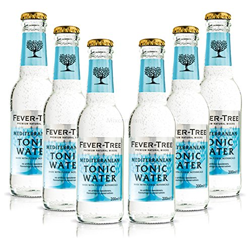 fever tree mediterranean tonic Fever-Tree Mediterranean Tonic Water Set - 6x 200ml