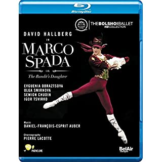 Auber: Marco Spada (The Bandit's Daughter) [Blu-ray] [2014] [Region Free]
