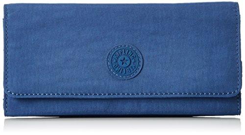 Kipling Brownie, Portafogli Donna, Blu (REF33V Jazzy Blue), 19x10x3 cm