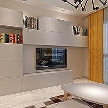 hanmero slido color papel pintado para muebles vinilos pegatinas de pared para cocina