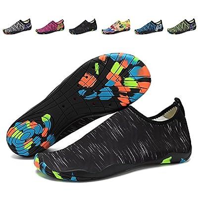 UMmaid Aqua Water Shoes Beach Swim Shoes Skin Socks for Men Women Pool Surf Yoga Running
