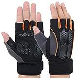 Fitness Handschuhe | Handschuhe für Fitness mit adjustable Handgelenk | Traininghandschuhe Gewichtheben Damen und Herren | Fahrradhandschuhe für Frauen und Männer | Bodybuilding Sporthandschuhe
