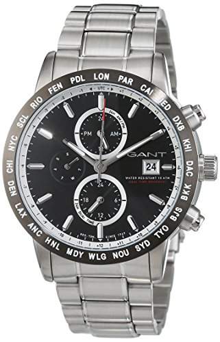 Gant Time Men's Watch Globetrotter Analogue Quartz Stainless Steel W11105