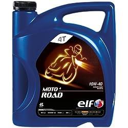 Aceite Motor Elf moto 4Road 10W40-Bidón de 4L