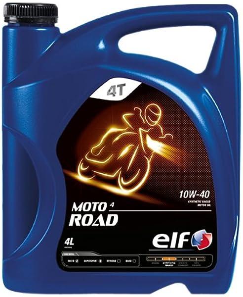 Elf Moto 4 Road 10w40 4 Takt Motorrad Öl 4 Liter Auto
