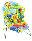 #1: Baybee Premium My First Melody Baby Bouncer With Soothing Vibration & Musical (Green / Orange)