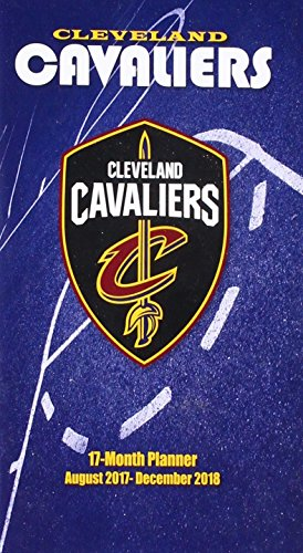 Cleveland Cavaliers August 2017-December 2018 17-month Planner por Lang Holdings Inc.