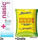 2x 10ml Nasic Nasenspray für Kinder + Gratis Power Drops. Bei Schnupfen