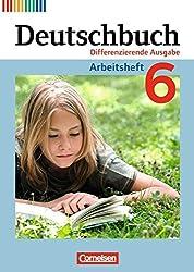 Deutschbuch - Differenzierende Ausgabe: 6. Schuljahr - Arbeitsheft mit Lösungen