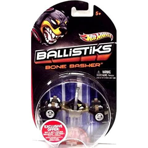 Hot Wheels Ballistiks Vehicle - Bone Basher by Mattel
