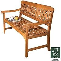 Robert Dyas FSC 3-Seater Fence Bench