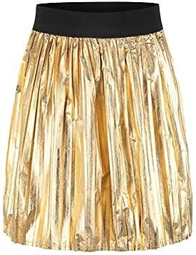 Faldas Mujer Verano Elegante Cortas Falda Plisada Cintura Alta Plisadas Vintage Hippie Moda Casual Street Style...